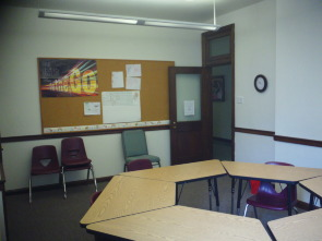One of the classrooms used for the Sunday School at FUMCOG