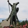 Don Quixote statue. Image provided by Historical Society of Pennsylvania