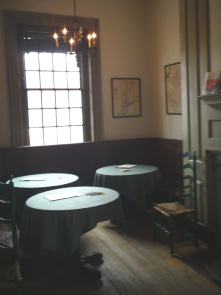The Coffee Room at City Tavern