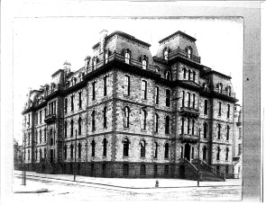 Philadelphia High School for Girls, also known as Girls' High, 17th and Spring Garden Streets