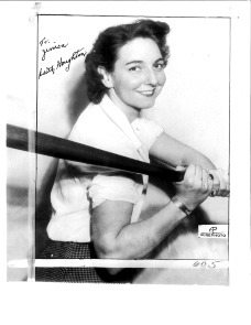 Edith Houghton in 1946, Autographed in 2012