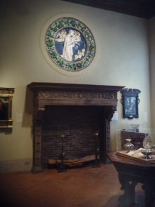 A Medieval period room at the Philadelphia Museum of Art