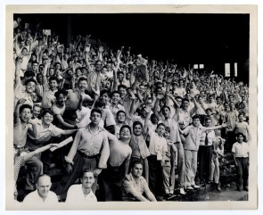 While Edith served with the WAVES during World War II, these kids cheered on baseball back in Philadelphia.
