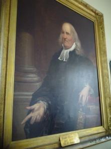 A portrait of Joseph Pilmore at Historic St George's