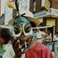 Puerto Rican mask. Image provided by Historical Society of Pennsylvania