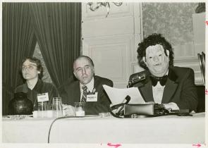 Gittings, Kameny, and Fryer at the APA meeting