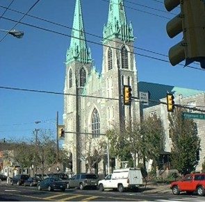 St. Adalbert Church on Allegheny Avenue