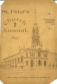 St. Peter's Church Annual, 1897. Image provided by Norman Yanovitz