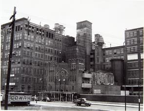 Stetson Hat Company factory, Building 15. Image provided by Historical Society of Pennsylvania
