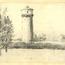 Water Tower Sketch