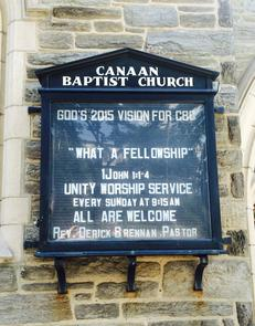 Canaan Baptist Church 6
