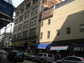 Current site of the, then, the Downbeat Club