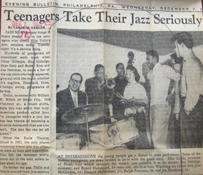 Teenagers Take Their Jazz Seriously