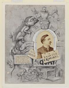 Political Cartoon on Matthew Quay