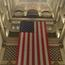 Wanamaker Organ Behind Flag