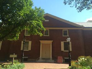 Arch Street Meeting House Front