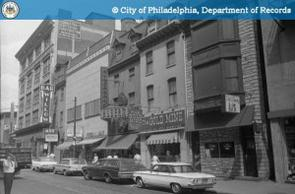 1965 View of East Side of South 11th Street