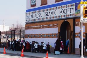 Al-Aqsa Islamic Society exterior. Image provided by Historical Society of Pennsylvania