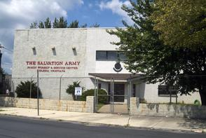 Salvation Army Family Worship and Service Center. Image provided by Historical Society of Pennsylvania