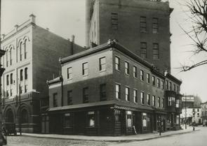 Back of Schmidt's Brewery. Image provided by Charles Veasey
