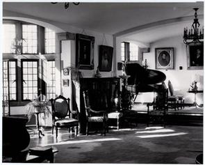 Interior of Edwin Forrest Home on Parkside Ave