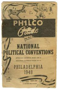 Philco Guide to the Political 1948 Conventions