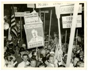 Crowd during 1936 Convention