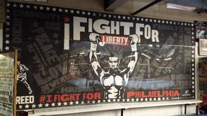 Front Street Gym - <i>Creed</i> Autographed Mural