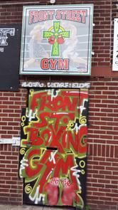 Front Street Gym - Entrance