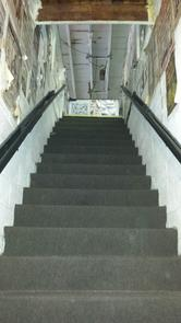 Front Street Gym - Stairs