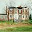 Painting of Laurel Hill Mansion