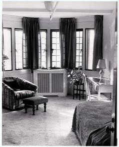 A resident's bedroom