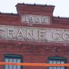 Crane Co. building sign. Image provided by Historical Society of Pennsylvania