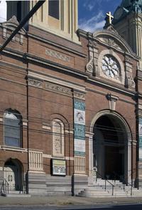 St. Michael's Roman Catholic Church. Image provided by Historical Society of Pennsylvania