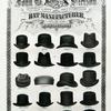 Stetson hat styles, 1873-1874. Image provided by Historical Society of Pennsylvania