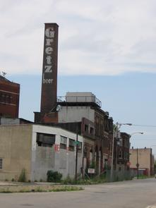 Rieger & Gretz Brewery exterior. Image provided by Historical Society of Pennsylvania