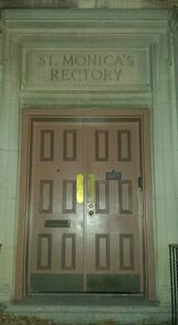 Saint Monica's Rectory Entrance