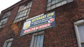 Harrowgate Boxing Gym - Veterans Gym Sign