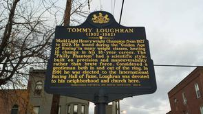 Tommy Loughran Pennsylvania State Historical Marker