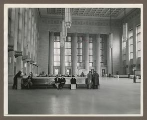 Interior view of 30th Street Station