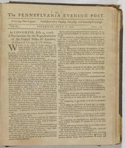 The Pennsylvania Evening Post