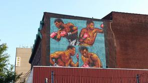 Boxer's Mural