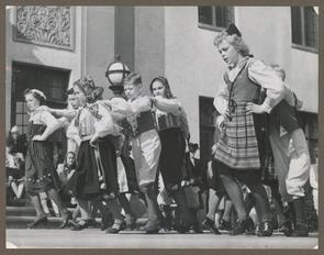 Swedish Folk Dancers, 1941
