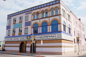 Al-Aqsa Islamic Society building. Image provided by Historical Society of Pennsylvania