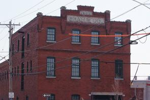 Crane Company building exterior. Image provided by Historical Society of Pennsylvania