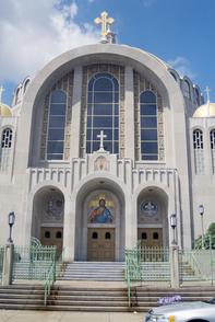 Ukranian Cathedral of the Immaculate Conception. Image provided by Historical Society of Pennsylvania