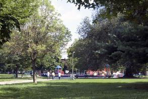Norris Square Park. Image provided by Historical Society of Pennsylvania