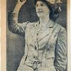 Former Kensington mill girl now a suffrage speaker. Image provided by Historical Society of Pennsylvania