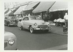 Cars parked along Marshall Street. Image provided by Elaine Ellison