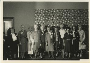 Women who worked in stores on 900 Marshall Street. Image provided by Elaine Ellison